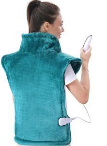 8. MaxKare Large Heating Pad for Back and Shoulder Pain