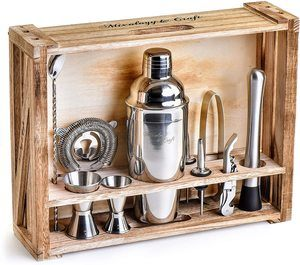 8. Mixology Bartender Kit 11-Piece Bar Tool Set