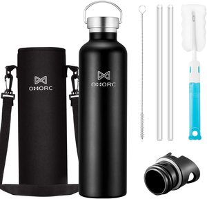 8. OMORC 316 Stainless Steel Water Bottle