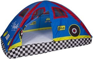 8. Pacific Play Tents 19710 Kids Rad Racer Bed Tent