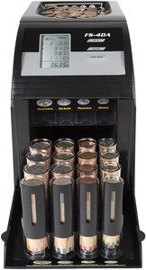 8. Royal Sovereign 4 Row Electric Coin Counter
