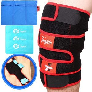 8. TOUGHITO Hot & Cold Knee Ice Pack Wrap
