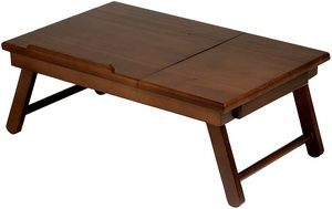 8. Winsome Alden Bed Tray, Walnut