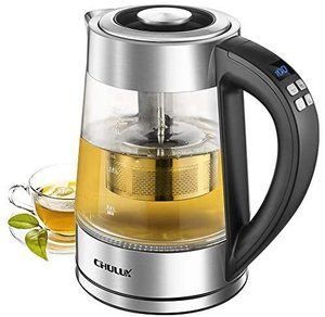 9. CHULUX Electric Glass Kettle, 1.7L
