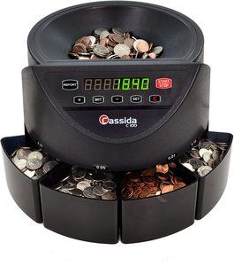 9. Cassida C100 Electronic Coin Sorter