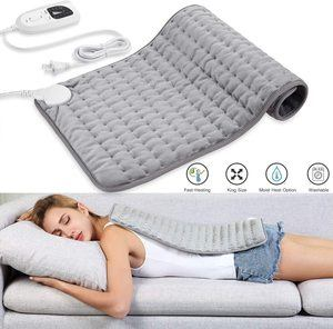 9. Dekugaa Electric Heating Pad for Moist & Dry Heat