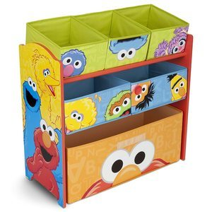 9. Delta Children 6-Bin Toy Storage Organizer