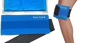 9. Koo-Care Flexible Gel Ice Pack & Wrap with Elastic Strap