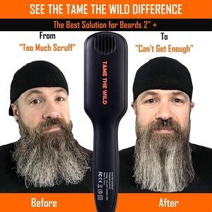 9. Tame's Beard Straightener - 12 Temp Settings