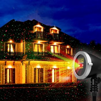 #1. 1 By One Adjustable Laser Lights with Remote