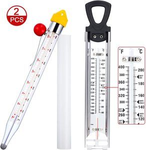1. BBTO Stainless Steel Candy Deep Fry Thermometer