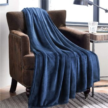 #1. BedSure Lightweight Soft Blanket