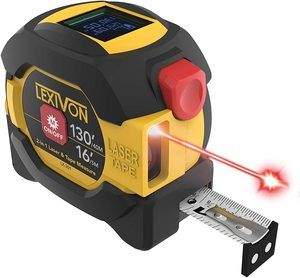 1. LEXIVON 2 in 1 Digital Laser Tape Measure (LX-201)