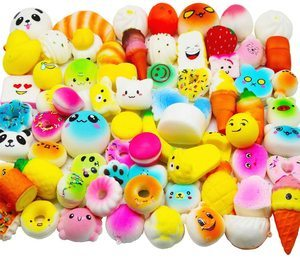 4. Huastyle Mini Slow Rising Squishies Toys, 20pcs