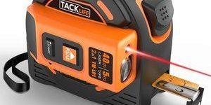 4. Laser Tape Measure 2-in-1 with LCD Digital Display