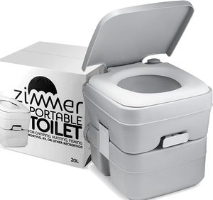 6. Portable Toilet Camping Porta Potty - 5 Gallon