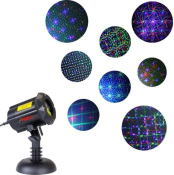 #7. LedMall Outdoor Laser 8 Patterns