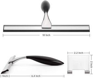 8. AmazerBath Stainless Steel Shower Squeegee