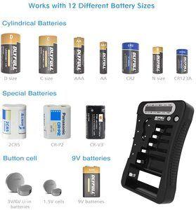 #7. DLYFULL Battery Tester