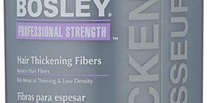 #8. Bosley Professional Strength Hair Thickening Fibers