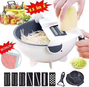 #8. VAESIDA Vegetable Slicer Cutter
