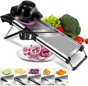 #9. MASTERTOP Adjustable Vegetable Slicer
