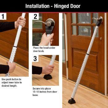 #1. 265D Door Security Bars