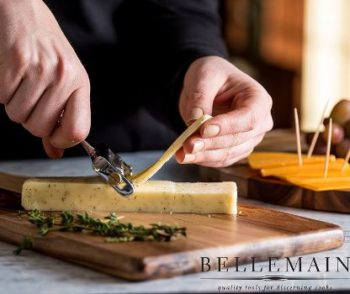#1. Bellemain Cheese Slicer