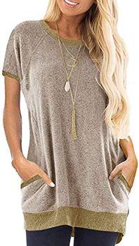 1. Beyove Womens Long Sleeve Pocket Sweatshirts