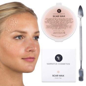 1. Narrative Cosmetics Modeling Scar Wax