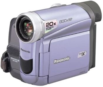 1. Panasonic PV-GS9 MiniDV Camcorder