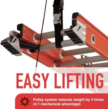 1. Racor - LDL-1B, Ceiling Ladder Storage Lift