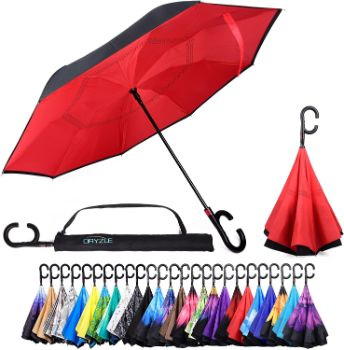 1. Reverse Inverted Inside Out Umbrella - Upside Down