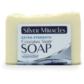 10. Extra Strength Colloidal Silver Soap
