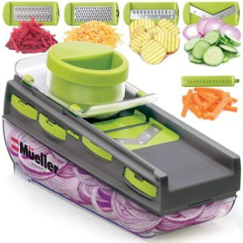 10. Mueller Mandoline Slicer for Fruits and Vegetables