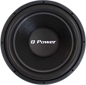 10. QPower QPF15 15-Inch 2200W Deluxe Series Subwoofer