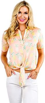 #10. Tipsy Elves Women's Bright Hawaiian Shirt