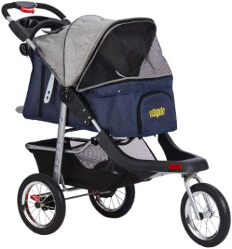 10. VIAGDO Premium Heavy Duty Pet Stroller