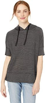 2. Amazon Brand - Daily Ritual Women's Short-Sleeve Sweatshirt
