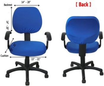 #2. Computer Office Chair Cover