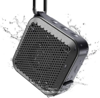 2. LEZII IPX8 Waterproof Bluetooth Speaker