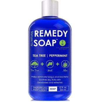 #2. Remedy Soap Tea Tree Oil Body Wash