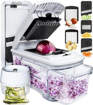 3. Fullstar Mandoline Slicer Spiralizer Vegetable Slicer