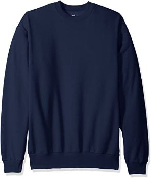 3. Hanes Men's Ecosmart Fleece Sweatshirt
