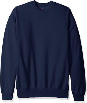 3. Hanes Men's Ecosmart Fleece Sweatshirt