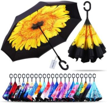 3. Owen Kyne Double Layer Folding Inverted Umbrella