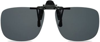 #3. WANGLY Unisex Clip on Flip up Sunglasses