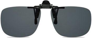 #3. WANGLY Unisex Clip on Flip up Sunglasses