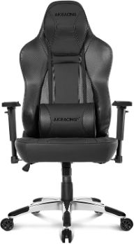 4. AKRacing Office Series Obsidian Ergonomic Computer Chair