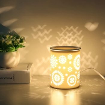 #4. COOSA Ceramic Candle Warmer Lamp